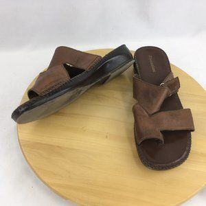 Naturalizer Funtime 2 Toe Loop Sandals Size 10